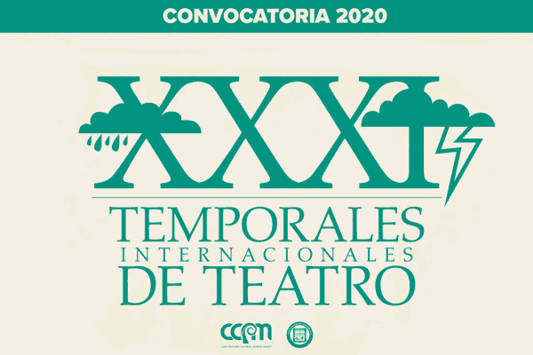 Convocatoria Temporales Teatro 2020
